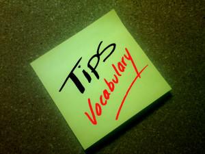 tips-vocabulary